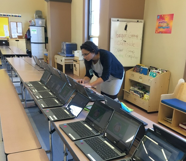 . . . and technology connections before students arrive.