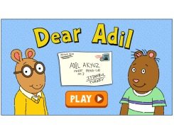 """Dear Adil"" interactive comic"